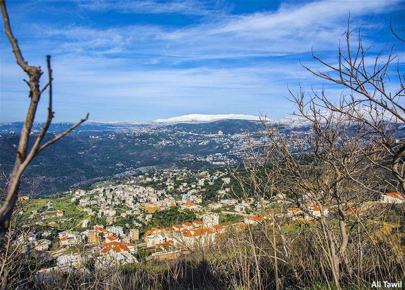 ☁️ landscape nature instagram beautiful nikon d810 instadaily ... (Sawfar, Mont-Liban, Lebanon)