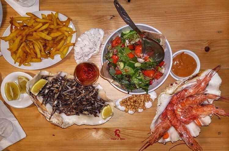 I sea a lot of food 🦐 🐟 .===================📍 @oysterseafood .======= (Batroûn)