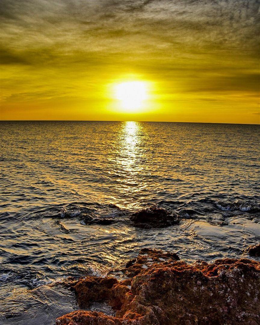 Meet me where the Sky touches the Sea..-📍Byblos seaside, Jbeil, Lebanon � (Byblos, Lebanon)