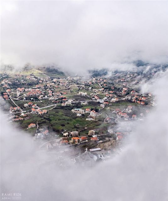 Heaven's Gate 💙... Ehden northlebanon lebanon dji drones ... (Ehden, Lebanon)