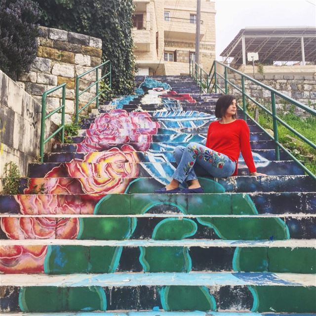 Found this piece of art by chance in Brumana, Lebanon.Did you know that... (Brummana)