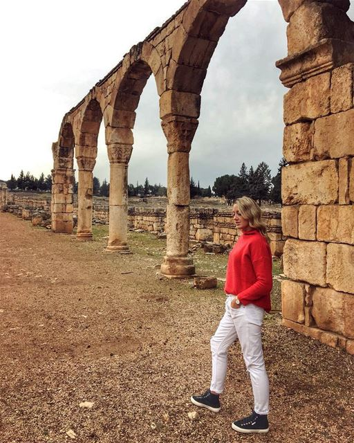 Anjar you have a special beauty 💚💚▶️Did you know that this ancient city... (`Anjar, Béqaa, Lebanon)