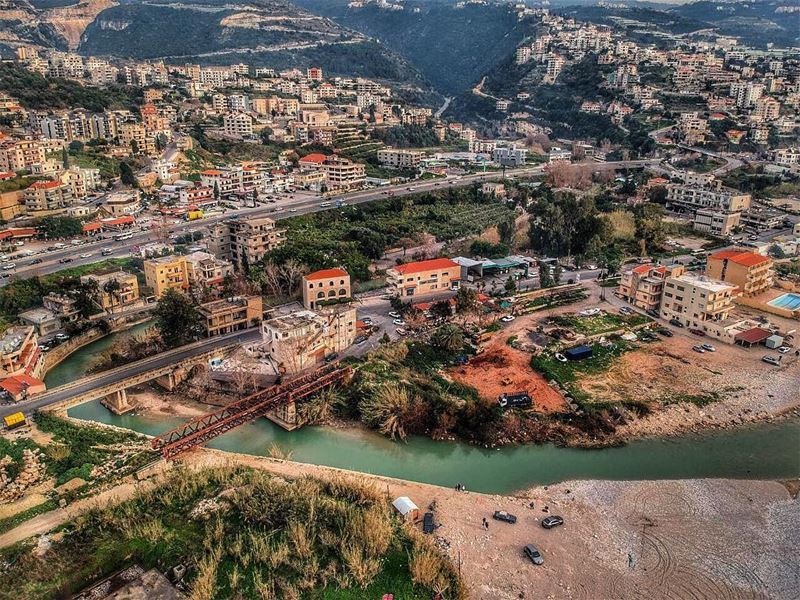 We build too many walls not enough bridges🌉  djiglobal  godrone ... (Beirut, Lebanon)