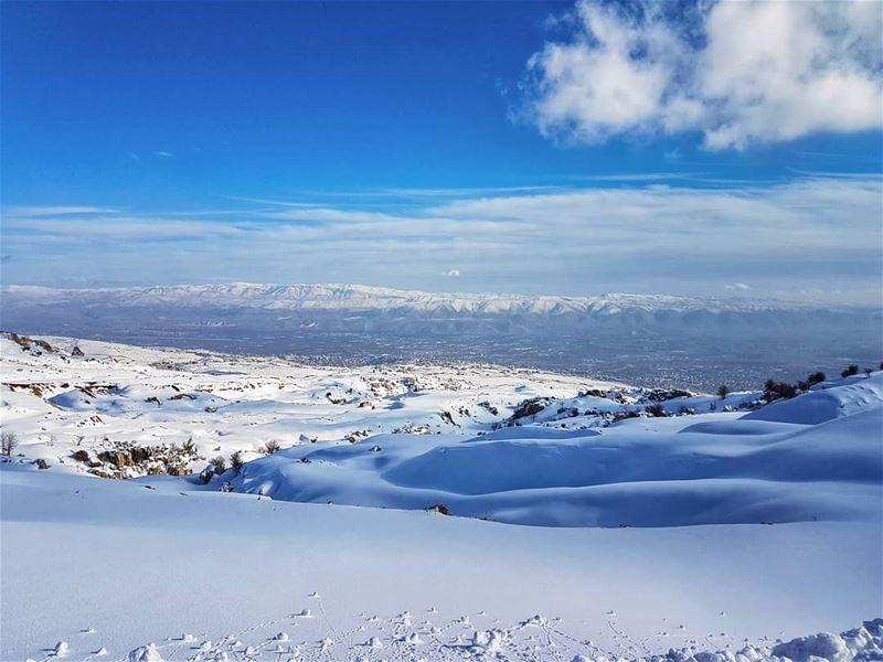 Winter pics of Lebanon winter beautiful colors snow landscape ... (Lebanon)