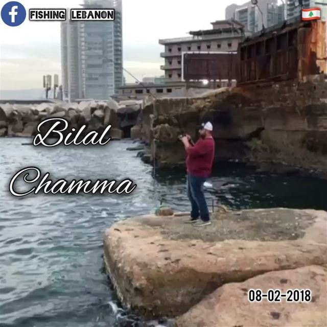 @bilal.shamma123 @fishinglebanon - @instagramfishing @jiggingworld @whatsup (Beirut, Lebanon)