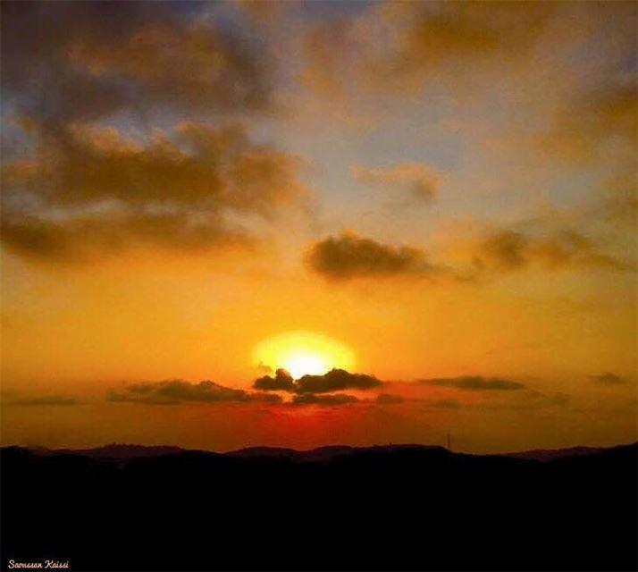 sunset sky clouds beautiful ...
