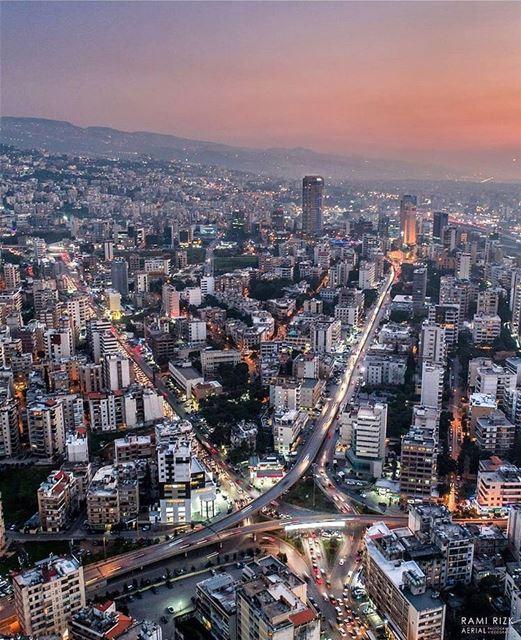 Beirut From Above! 📷 @rami_rizk89... beirut lebanon livelovebeirut ... (Beirut, Lebanon)
