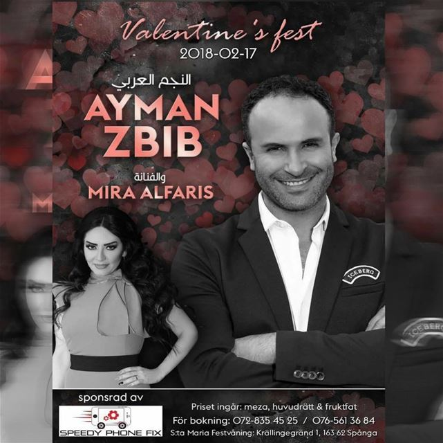 Look who's coming !!Ayman Zbib ❤️ stockholm- spånga. Passa på o boka 🔥...