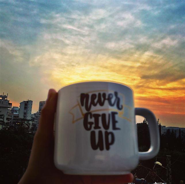 It always seems impossible until it's done. sunset sunset🌅 ... (جونية - Jounieh)