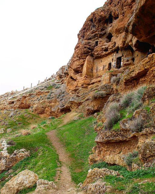 Good morning from Marmaroun monaestery by @micheline.fares Hermel ... (El Hermel, Béqaa, Lebanon)