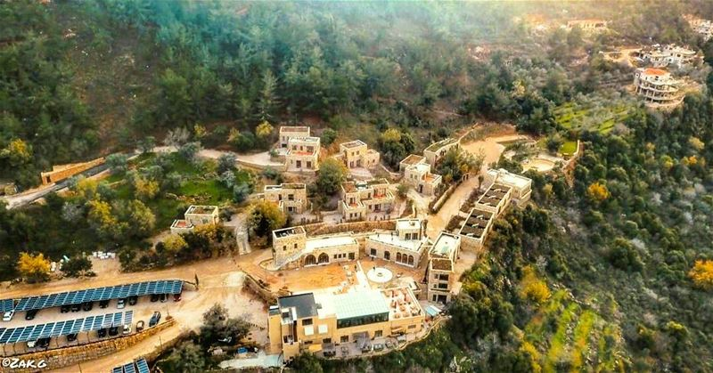 The cozy village of Bkerzay bkerzay village old cozy chouf nature ... (Bkerzay)