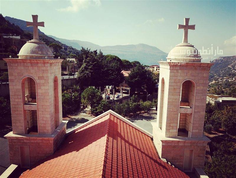 @saint.anthony.fouwara fromthesky skyview By:@raymond_el_khoury ...