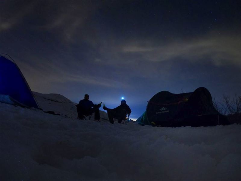 Cold Air Dark NightBright Stars🍻CHEERS🍻 (SNOW CAMP)