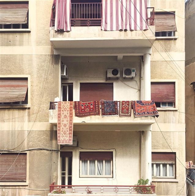 hanging on for dear life 🤸🏼♀️ (Beirut, Lebanon)