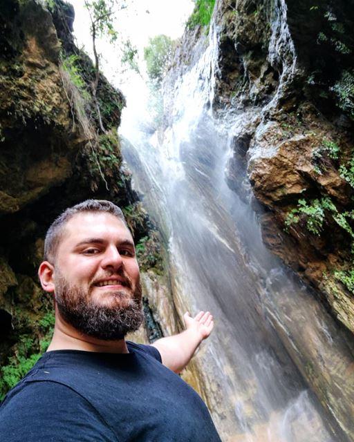 ChasingWaterfalls Selfie Waterfall JabalMoussa Lebanon...