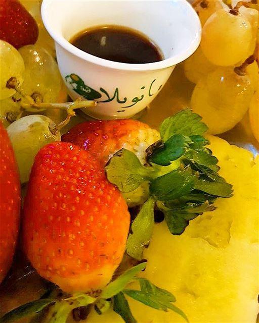 Sunday treat 💆🏽☕️..... coffee coffeeculture ramramcoffee ... (Manuella restaurant)