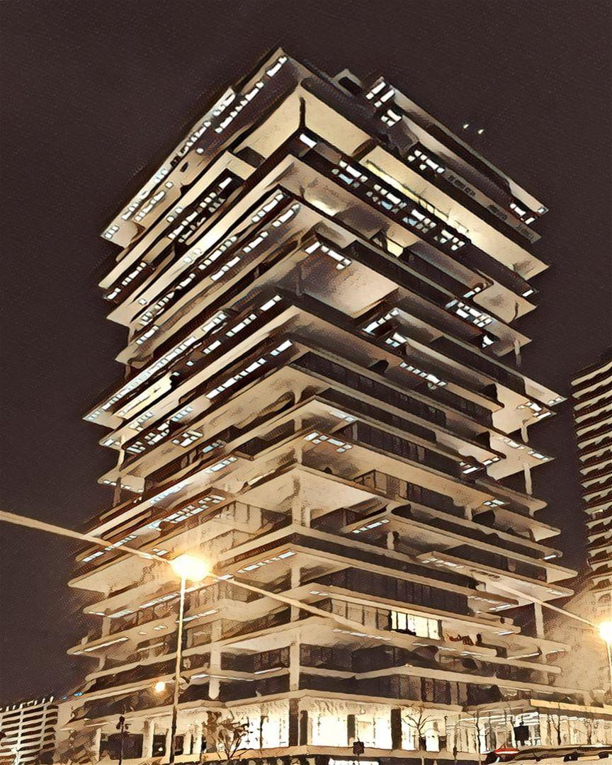 Iconic. LebanonInAPicture BeirutTerraces HerzogDeMeuron Architects ... (Beirut Terraces)