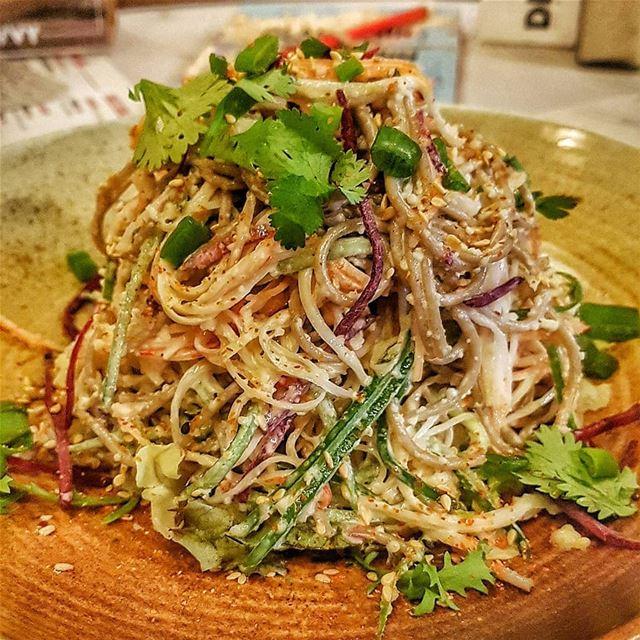 The New Crab Salad 🦀... beirut lebanon dbayeh crab salad asian ... (DIVVY)
