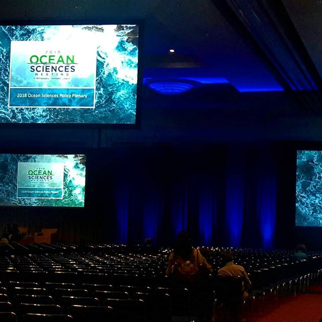 Opening ceremony of the 2018 Ocean Sciences Meeting OSM2018  AGU  ASLO ... (Oregon Convention Center)