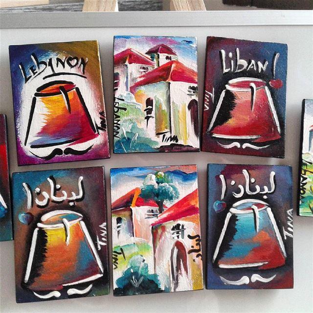 Magnets available @virginmegastorelb @lartisanduliban @maison_de_lartisan ...
