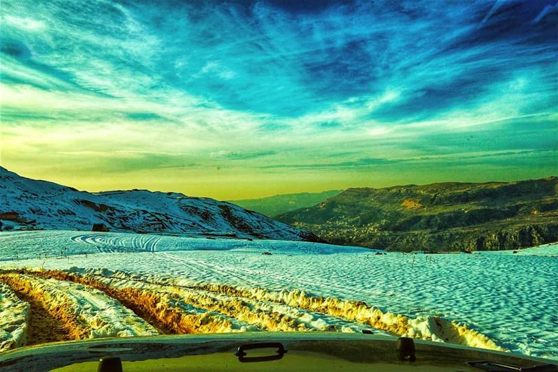 lebanon snow theimaged agameoftones earthpix beautifuldestinations ...