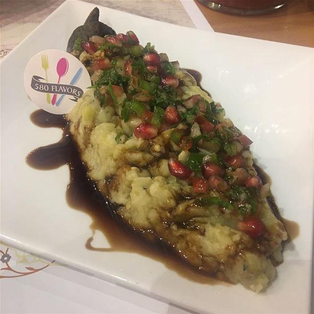 Saltet raheb 😍 i just love eggplant 🍆 😍🤤 @dunyazadlb hamra...... (Dunyazad Restaurant)