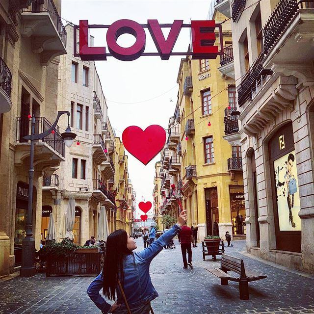 Happy heart day❤❤ love  heart  red  inlove  spreadlove  girl  lovelebanon... (Downtown Beirut)
