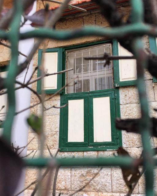 Douma, Lebanon: shutters, bricks and stones.... douma livelovedouma ... (Douma, Liban-Nord, Lebanon)