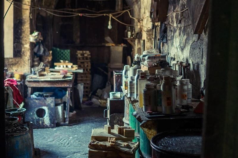 The only remaining atelier that still creates soap using the traditional... (Tripoli, Lebanon)