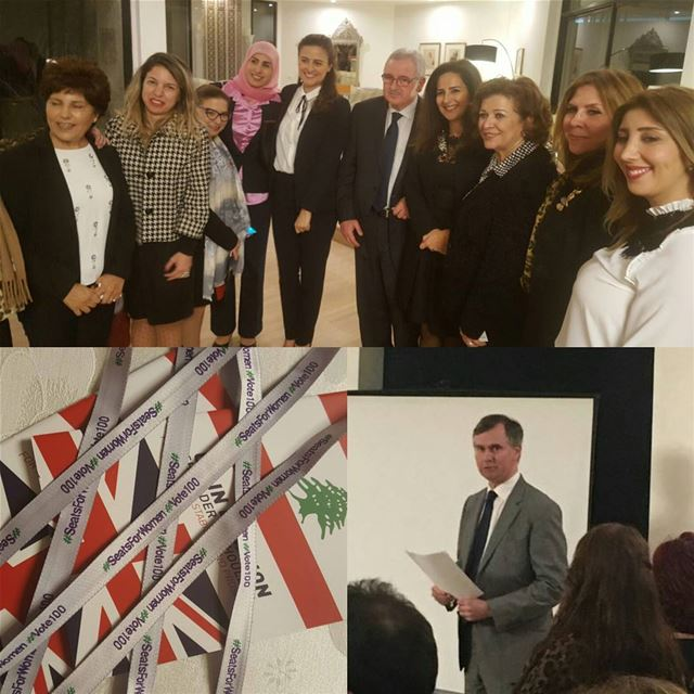 @HugoShorter 'Very pleased to host actual and potential women candidates...
