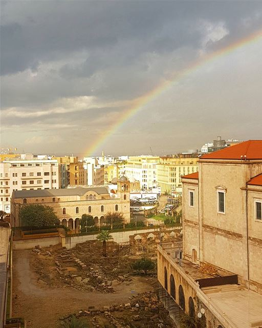 It's a rainbow though.... ig_respect insta_lebanon ptk_nature ptk_sky ...