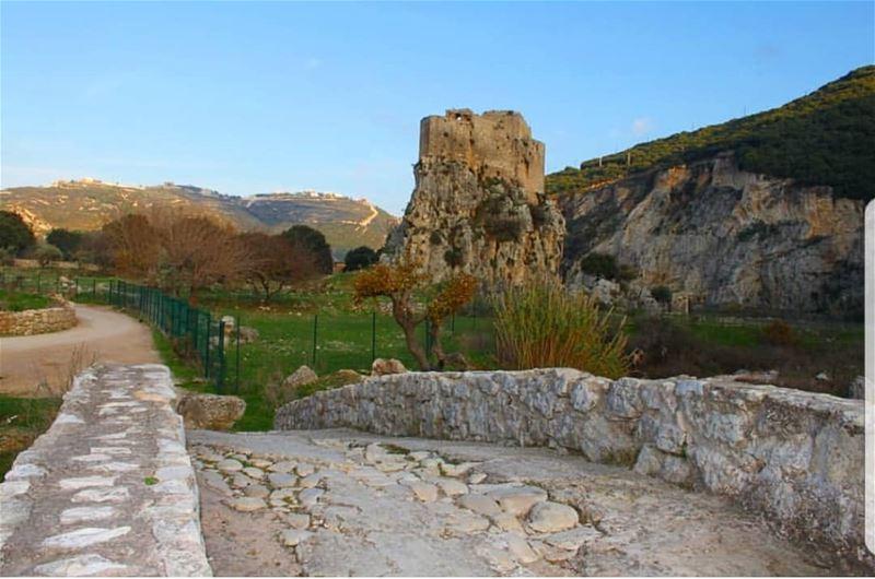 batroun hamat msaylha castle fortress bebatrouni Lebanon ... (Mseilha Fort)
