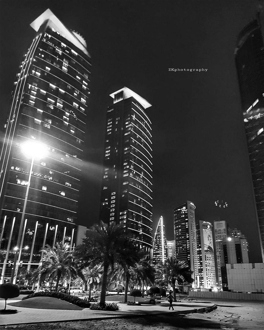 بلاك اند وايت ♠️ * bnw bnw_captures bnw_planet bw bw_photooftheday ... (City Center Doha)