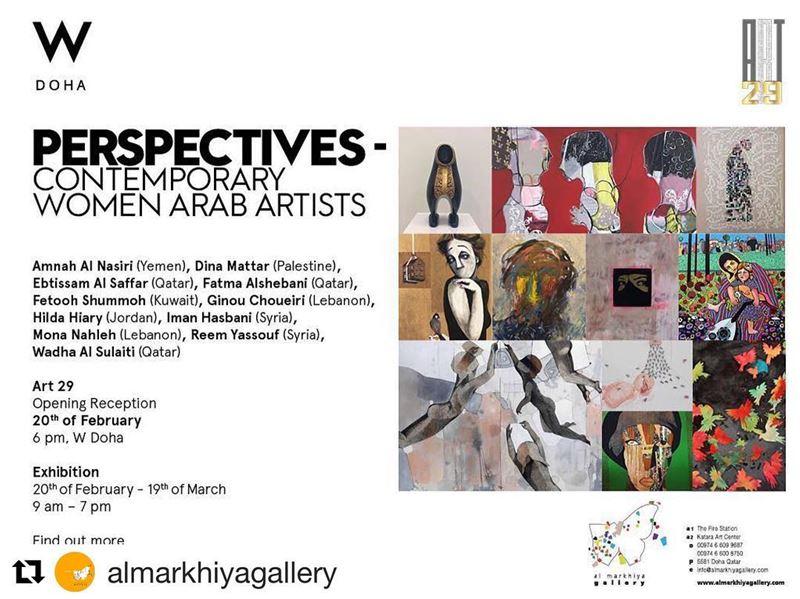 Repost @almarkhiyagallery with @get_repost・・・al markhiya gallery in...