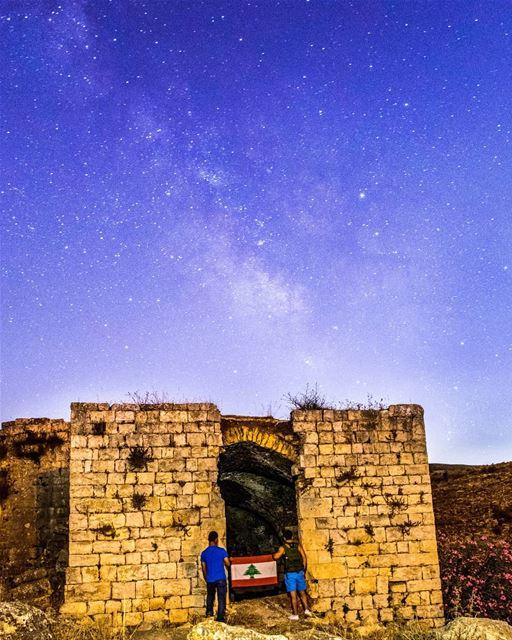 Cause U are A sky Full Of Stars... ✨✨ =================================== ... (Hoûmîne El Faouqa, Al Janub, Lebanon)