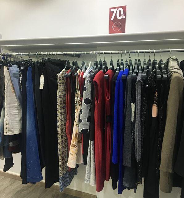 Sale 70% Off sectionDailySketchLook 241 shopping italian boutique ... (Er Râbié, Mont-Liban, Lebanon)