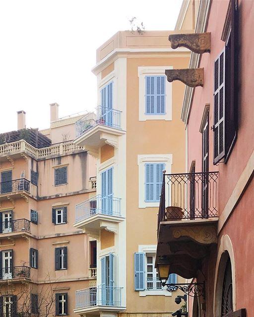 Beirut in layers 🏘 (Beirut, Lebanon)