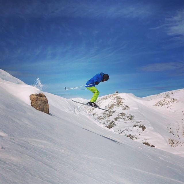 I was gonna go to work but then I got high 😎⛷📷: @sam_lb (Mzaar Ski Resort Kfardebian)