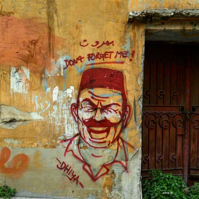 بيروت don't forget me😏 streetphotography outdoors noperson travel ... (Mar mikheal)