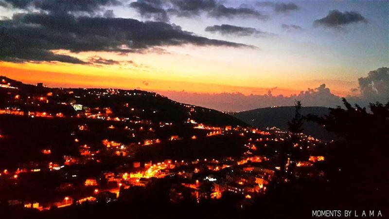 Those Lights🎇 LAMA_YOUSSEF ... (Bakhoun, Liban-Nord, Lebanon)