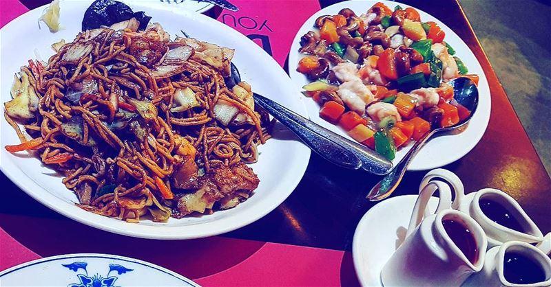 Lebanon Byblos jbeil chopsticks seafood noodles ... (Chopsticks Jbeil)