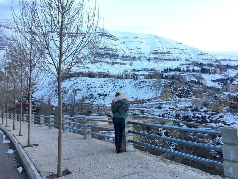 Make me laugh and smile 🏔️----------------------------------------------- (Faraya, Mont-Liban, Lebanon)