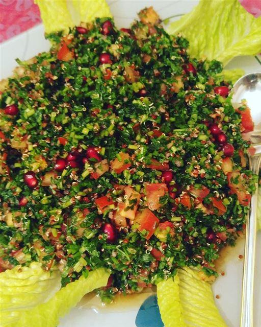 On diet tabbouleh wiz quinoa and pomegrenate bio quinoasalad ...