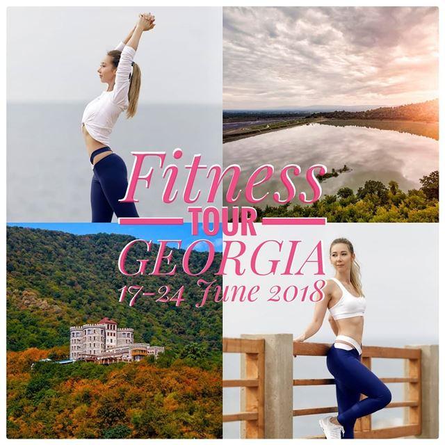 🤸🏼♀️ FITNESS TOUR in GEORGIA 🇬🇪• 1st Fitness Tour from Lebanon!!!... (Beirut, Lebanon)