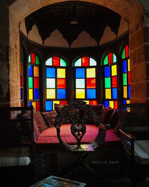 Colors of history art arts artistic artists artist lebaneseartist ... (Beiteddine Palace)