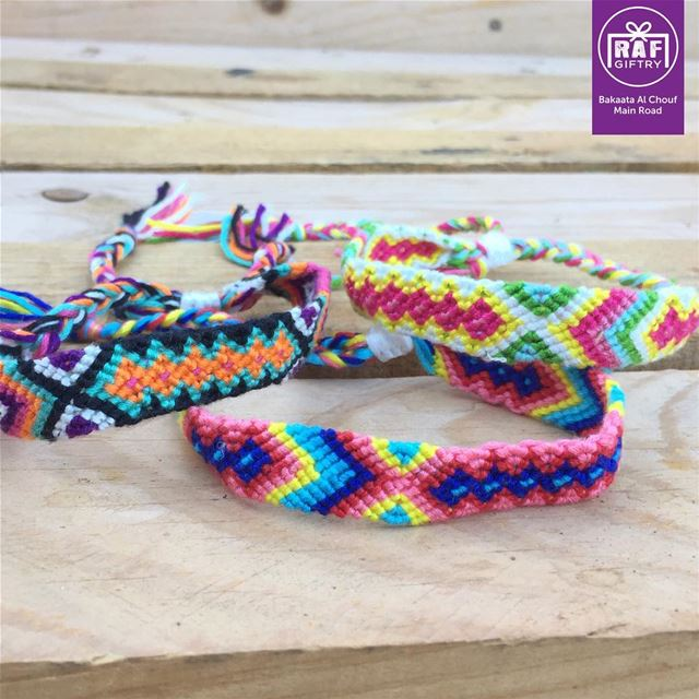 Walk humbly 🧘🏻♀️ raf_giftry.......... anklet wool ... (Raf Giftry)