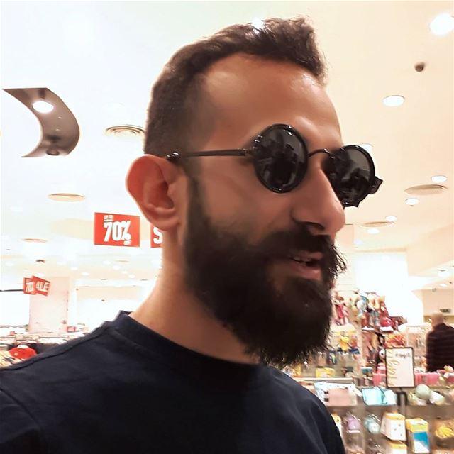 me selfie beirut lebanon ring beard pogonophile bearedman glasses... (Citymall)