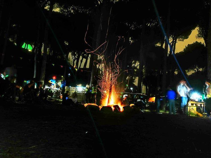 Campfire 🏕️🔥 (Beit Meri, Mont-Liban, Lebanon)