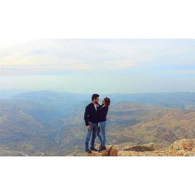 The View Is Better From Up Top! livelovelebanon livelovebeirut ... (Mount Lebanon Governorate)