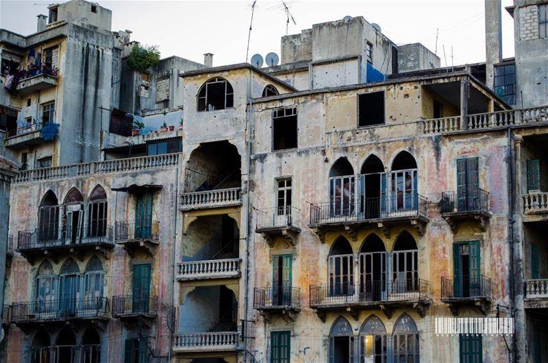 Levantine architecture........ travelawesome exploretheglobe ... (Beirut, Lebanon)